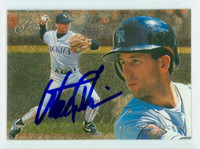 Walt Weiss AUTOGRAPH 1995 Fleer Flair Rockies 