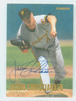 Jason Christiansen AUTOGRAPH 1996 Fleer Pirates 