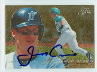 Jeff Conine AUTOGRAPH 1995 Fleer Flair Marlins 