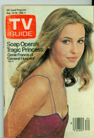 1980 TV Guide Aug 23 Genie Francis of General Hospital Detroit edition Excellent - No Mailing Label  [Lt wear on both covers, contents fine]