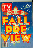 1980 TV Guide Sep 13 Fall Preview Iowa edition Excellent - No Mailing Label  [Lt wear, ow very clean]