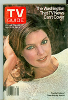 1980 TV Guide Sep 20 Priscilla Presley Western Illinois edition Very Good to Excellent - No Mailing Label  [Lt scuffing on cover, ow very clean]