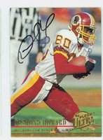 Desmond Howard AUTOGRAPH 1994 Fleer Ultra Redskins 