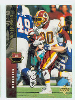 Desmond Howard AUTOGRAPH 1994 Upper Deck Redskins 