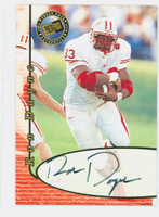 Ron Dayne AUTOGRAPH Press Pass 2000 Authentics CERTIFIED 