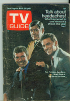 1969 TV Guide Mar 29 The Name of the Game Wisconson edition Very Good - No Mailing Label  [Lt wear, scuffing and creasing on cover; contents fine]