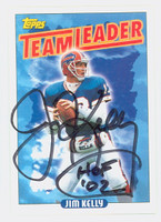 Jim Kelly AUTOGRAPH 1993 Topps Bills HOF '02 