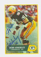 Herb Adderley AUTOGRAPH Champion Cards Legends of the Game Packers HOF '80 REVERSE SIDE IS PERSONALIZED  [SKU:AddeH50005_MODFBi2]