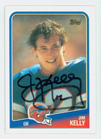 Jim Kelly AUTOGRAPH 1988 Topps Football #221 Bills HOF '02 CARD IS SHARP NMT