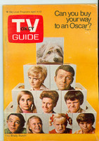 1970 TV Guide Apr 4 Brady Bunch (First Cover) Oklahoma edition Excellent - No Mailing Label  [Surface wear on both cover, contents clean]