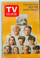 1970 TV Guide Apr 4 Brady Bunch (First Cover) Colorado edition Very Good - No Mailing Label  [Wear and creasing on cover, contents fine]