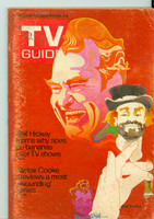 1970 TV Guide Oct 3 Red Skelton Missouri edition Very Good to Excellent - No Mailing Label  [Heavy scuffing on cover, contents fine]