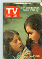 1971 TV Guide May 1 Mary Tyler Moore Eastern Illinois edition Good to Very Good - No Mailing Label  [Lt tears along edges of cover; scuffing; contents fine]