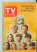 1970 TV Guide Apr 4 Brady Bunch (First Cover) Eastern Illinois edition Excellent to Mint - No Mailing Label  [Very lt wear, overall very clean]