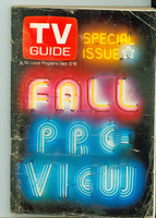1970 TV Guide Sep 12 Fall Preview Missouri edition Very Good - No Mailing Label  [Wear, creasing and scuffing on cover; contents fine]