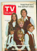 1970 TV Guide Oct 17 Partridge Family (First Cover) Eastern Illinois edition Very Good  [Lt wear and sm tape on cover, label removed; contents fine]