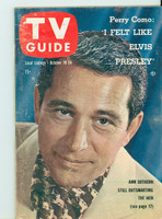 1958 TV Guide Oct 18 Perry Como Pittsburgh edition Excellent - No Mailing Label  [Lt wear along binding; contents fine]