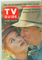 1960 TV Guide Jan 23 The Real McCoys Colorado edition Very Good - No Mailing Label  [Sl moisture on both covers; heavy crease, contents fine]