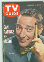 1960 TV Guide Jan 30 Garry Moore Southern Ohio edition Excellent - No Mailing Label  [Lt wear along binding; contents fine]
