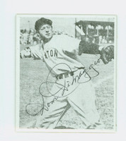 Dom DiMaggio AUTOGRAPH d.09 1948 Bowman Reprints Red Sox 
