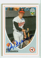 Andy Etchebarren AUTOGRAPH 2002 Topps Super Teams Orioles 