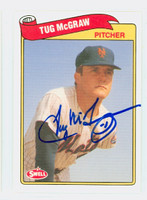 Tug McGraw AUTOGRAPH d.04 Swell Mets  [SKU:McGrT1536_SWELL]