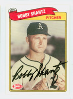 Bobby Shantz AUTOGRAPH Swell Athletics 