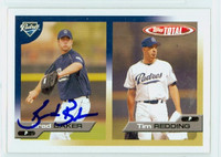 Brad Baker AUTOGRAPH 2005 Topps Total Padres 