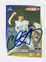 Chad Tracy AUTOGRAPH 2005 Topps Total Dbacks 