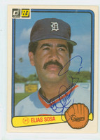 Elias Sosa AUTOGRAPH 1983 Donruss #259 Tigers 