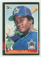 Darnell Coles AUTOGRAPH 1985 Donruss Mariners   [SKU:ColeD6491_DON85BB]