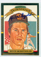 Kevin McReynolds AUTOGRAPH 1987 Donruss Diamond King Padres 
