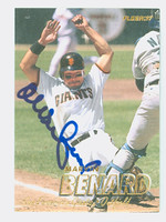 Marvin Benard AUTOGRAPH 1997 Fleer Giants 