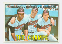 1967 Topps Baseball 1 Champs Baltimore Orioles Very Good