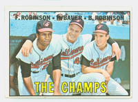 1967 Topps Baseball 1 Champs Baltimore Orioles Very Good to Excellent