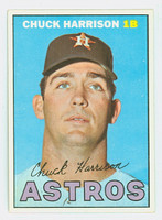 1967 Topps Baseball 8 Chuck Harrison Houston Astros Excellent to Excellent Plus