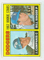 1967 Topps Baseball 12 Dodgers Rookies Excellent