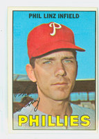 1967 Topps Baseball 14 Phil Linz Philadelphia Phillies Excellent to Excellent Plus