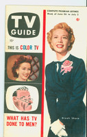 1953 TV Guide Jun 26 Dinah Shore Washington-Baltimore edition Excellent to Mint - No Mailing Label  [Lt wear on both covers, ow very clean]