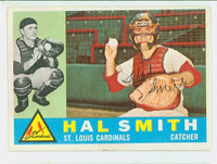 Hal R. Smith AUTOGRAPH d.14 1960 Topps #84 Cardinals CARD IS SHARP EX