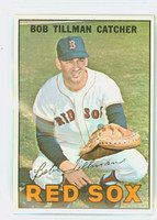 1967 Topps Baseball 36 Bob Tillman Boston Red Sox Excellent to Mint