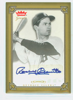Rocky Colavito AUTOGRAPH 2004 Fleer Greats SINGLE PRINT Tigers CERTIFIED 