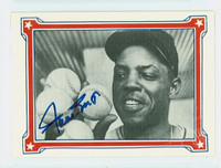 Willie Mays AUTOGRAPH Galasso 1984 Willie Mays Story Braves PSA COA   [SKU:MaysW1662_GALASPpc]