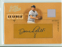 Dave Righetti AUTOGRAPH 2005 Donruss Leather Cuts Jersey /48 Yankees CERTIFIED   [SKU:RighD6922_D05BBSPce]