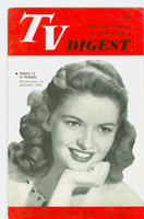 1951 TV Digest May 5 Margot Moser (Kraft Theater) (32 pgs) Philadelphia edition Very Good to Excellent  [Lt vert crease on cover, contents fine; label stamped on reverse]