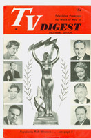1951 TV Digest May 26 Popularity Poll Winners (Sid Caesar) (32 pgs) Delaware edition Excellent  [Sl bend along binding; label stamped on reverse]