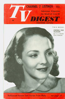 1951 TV Digest June 30 Starlet from Philadelphia (32 pgs) Delaware edition Excellent  [Lt wear on cover, ow clean; label stamped on reverse]