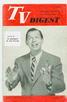 1951 TV Digest September 15 Milton Berle (32 pgs) Philadelphia edition Very Good to Excellent  [Wear on cover; contents fine, label stamped on reverse]