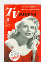 1952 TV Digest March 8 Marie Wilson (40 pgs) Delaware edition Excellent  [Lt wear on cover, ow clean; label stamped on reverse]