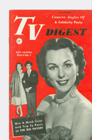 1952 TV Digest May 3 Bess Myerson of the Big Payoff (40 pgs) Pennsylvania State edition Very Good - No Mailing Label  [Creasing on cover, contents fine]